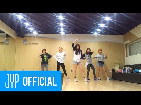 "Wonder Girls ""Like this"" Dance Practice"