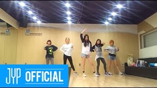 Wonder Girls &quotLike this&quot Dance Practice