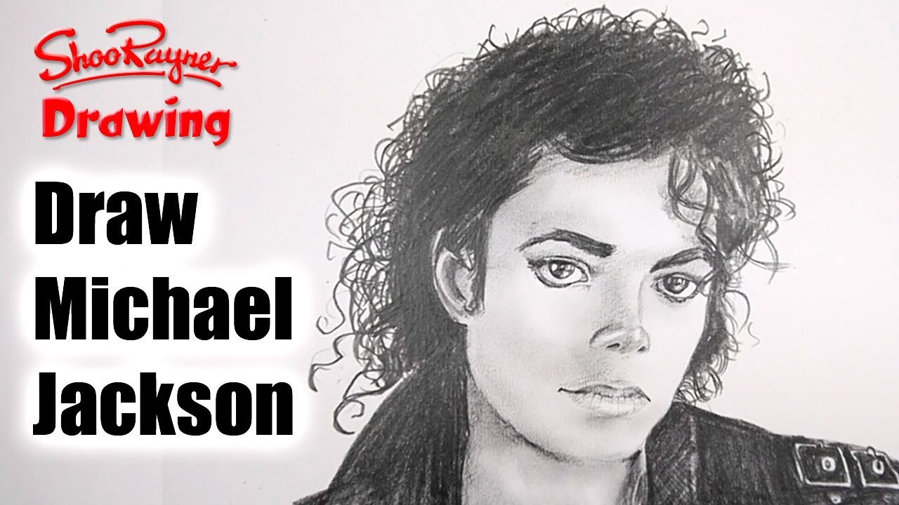 How to draw Michael Jackson - YouTube