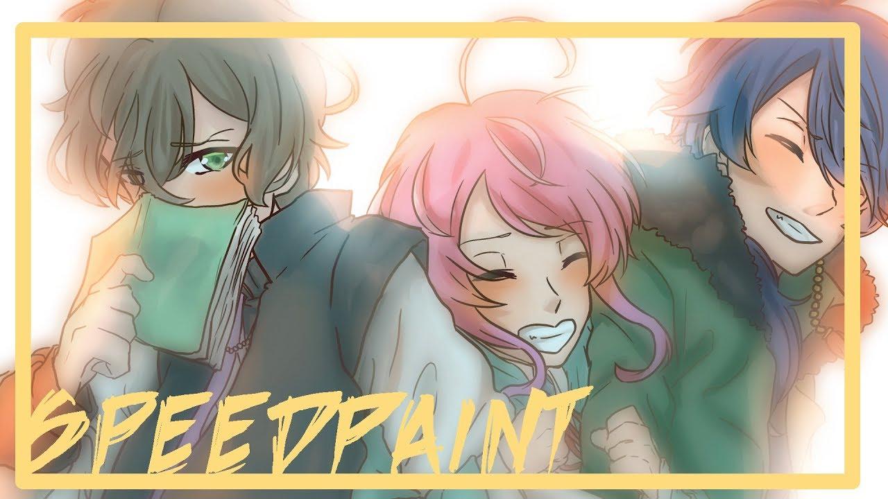 【Hypnosis Mic】Fling Posse Speedpaint