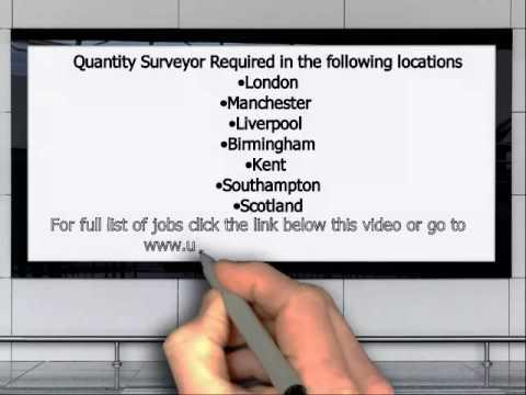 Quantity Surveyor Jobs