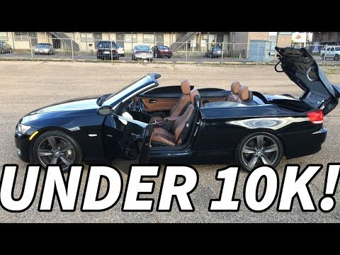 Top 5 AWESOME Convertible Cars Under 10k