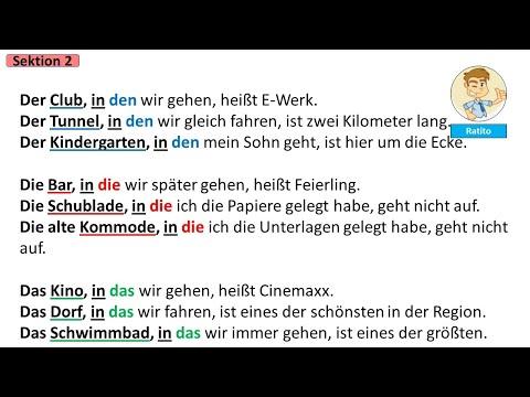 Deutschkurs für Anfänger - A1 bis B2 - N° 29