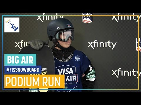 Ryoma Kimata | Men's Big Air | Atlanta | 3rd Place | FIS Snowboard