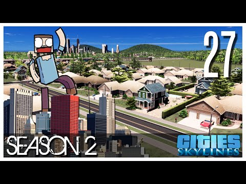 Cities Skylines - S2 Ep.27 : American Suburbs
