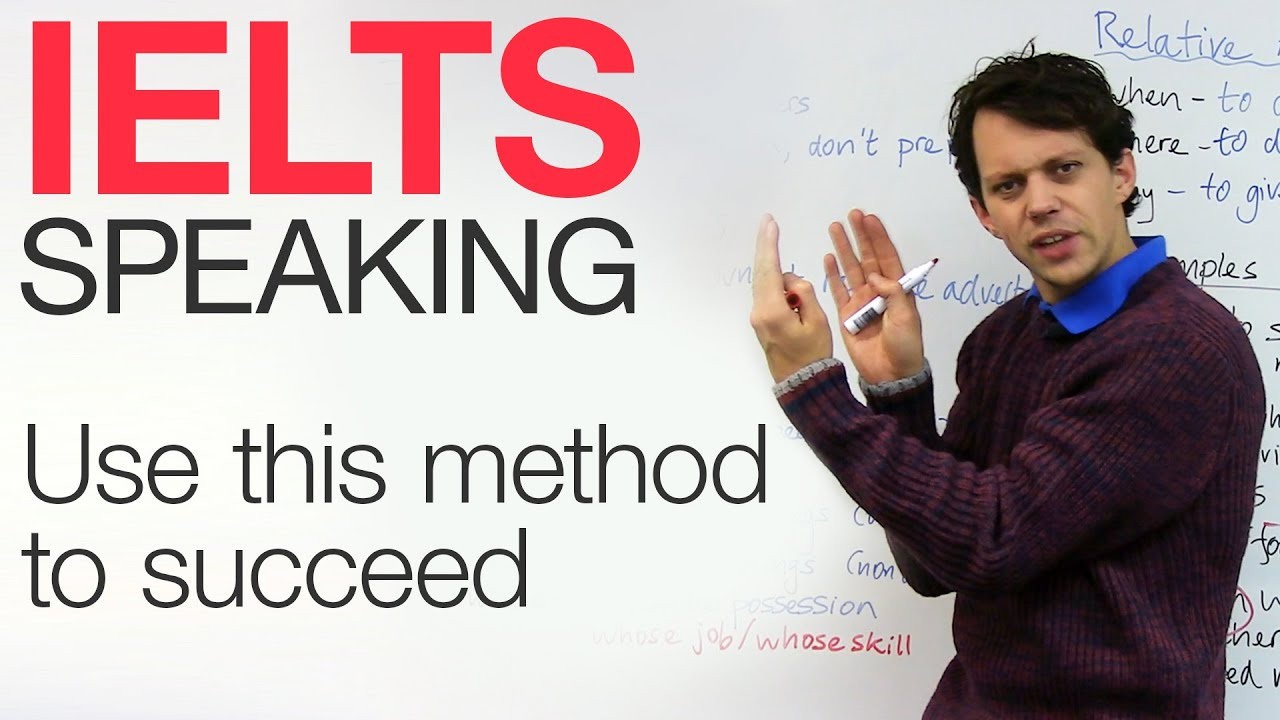 IELTS Speaking: The Secret Method