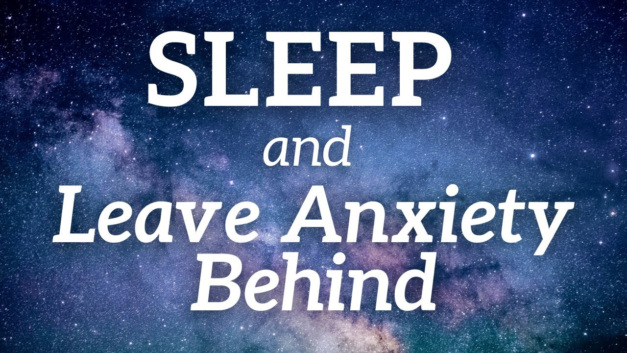 Sleep Hypnosis for Anxiety | Let Go Of Stress Behind & Float Away 😴