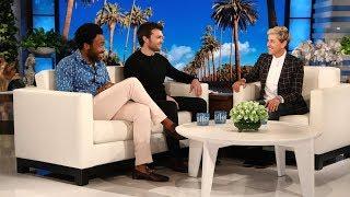 Baixar Donald Glover & Alden Ehrenreich Talk About Partying with Woody Harrelson & Jennifer Lawrence