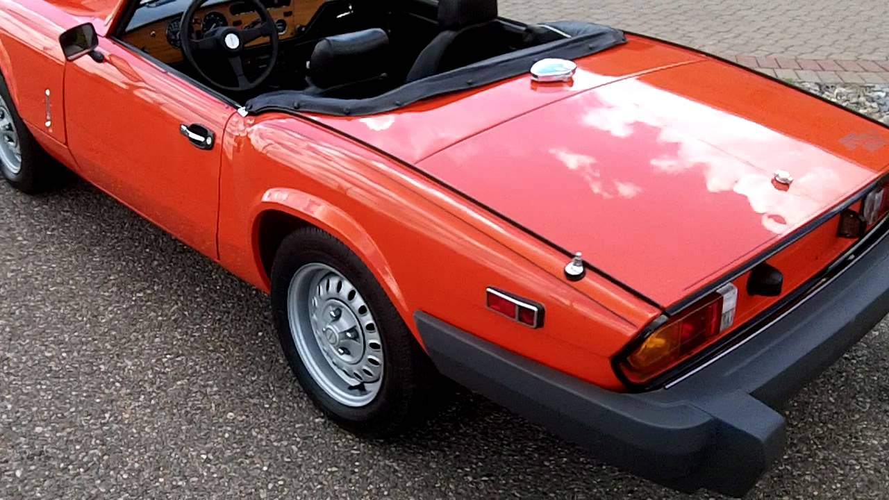 1980 Triumph Spitfire 1500 Hometown Motors Of Wausau Used Cars