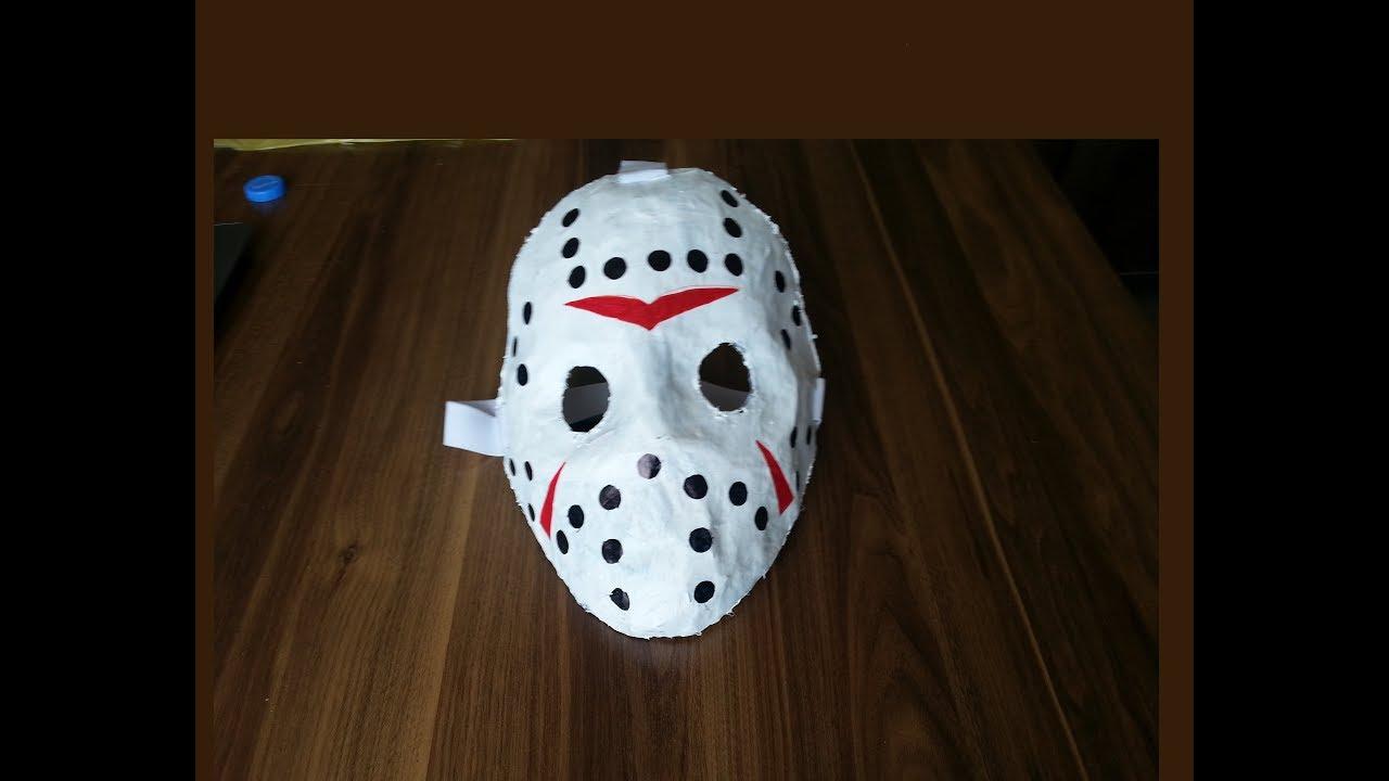 Jason Voorhees Maskesi Nasıl Yapılır Youtube