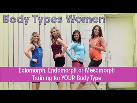 Body Types Women: Ectomorph, Endomorph or Mesomorph - Training for YOUR  Body Type