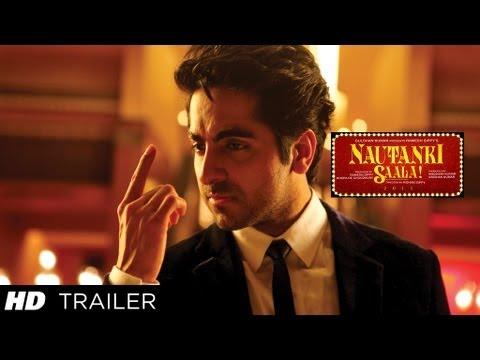 Download Nautanki Saala! New Theatrical Trailer ★ Ayushmann Khurrana, Kunaal Roy Kapur ★