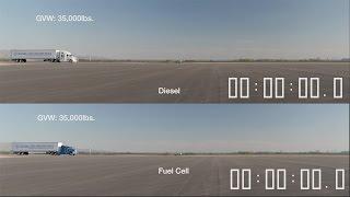 diesel truck vs fuel cell truck youcar
