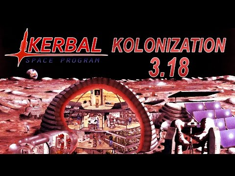 Kerbal Space Program - Kolonization in 1.2 18 - Satellite Servicing