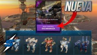 JUGANDO la NUEVA ESCARAMUZA *LOOOOL CAMPEROS CABR***** | SORILOKO War Robots