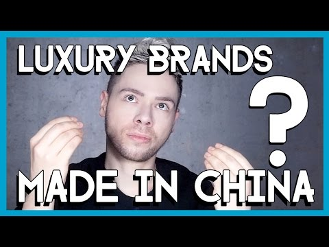 LUXURY BRANDS made in China ?