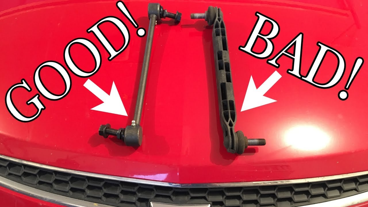 Chevy Cruze Sway Bar Link Replacement / Upgrade - Noisy Front End Fix - DIY  How To
