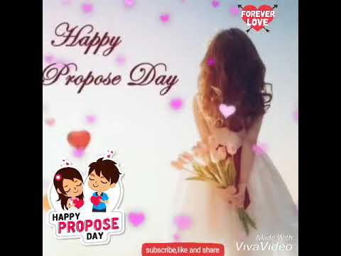 Happy propose day my love images