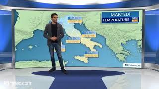 Meteo Italia: temperature in calo e sotto la media del periodo