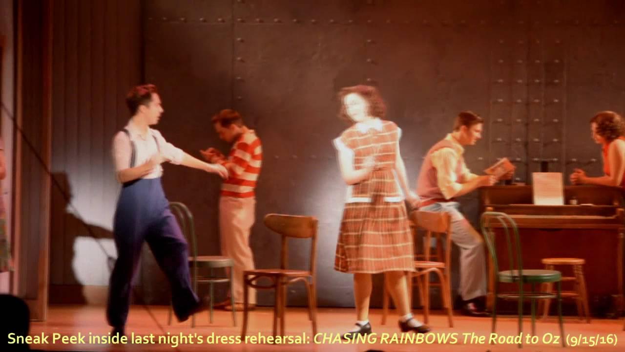 Inside Dress Rehearsal: Sneak Peek at Goodspeed's CHASING RAINBOWS The Road to Oz
