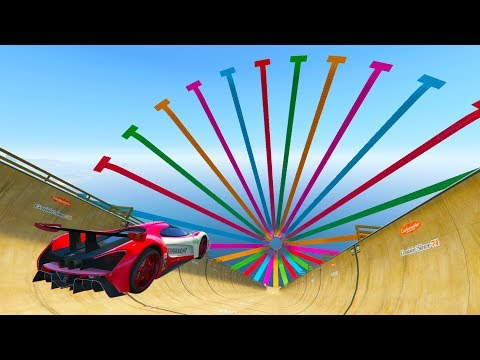 MEGA RAMPA SÚPER IMPOSIBLE! - CARRERA GTA V ONLINE - GTA 5 ONLINE