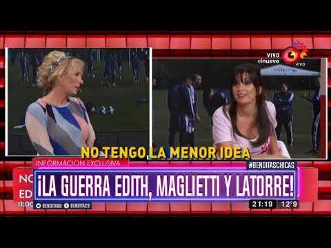 ¡La Guerra Edith, Maglietti y Latorre!