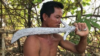 Primitive Culture: Natural Aluminum Souvenir (Sword)
