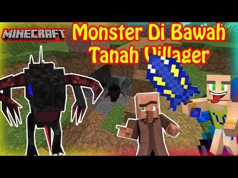 Upin Menyerang Monster Bawah Tanah, Rumah Villager - Minecraft Indonesia Mp3