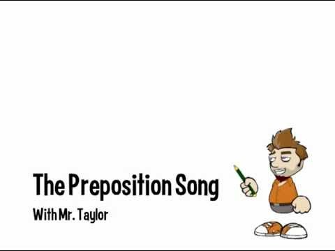 The Preposition Song