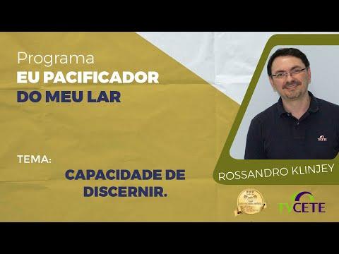 Rossandro Klinjey - Capacidade de Discernir.