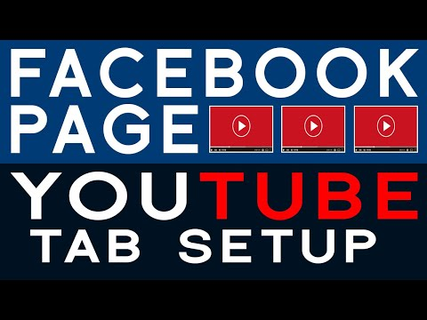 how-to-setup-youtube-tab-in-facebook-page-2019