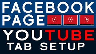 How to setup youtube tab in facebook page 2019