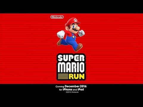 Super Mario Run chega em 15 de dezembro