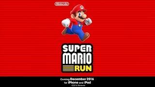 لعبة Super Mario Run لمنصة iOS ستصدر إبتداء من 15 ديسمبر - إلكتروني