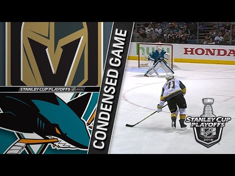 04/30/18 Second Round, Gm3: Golden Knights @ Sharks