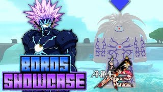 Boros Showcase in Anime Cross 2! | Roblox