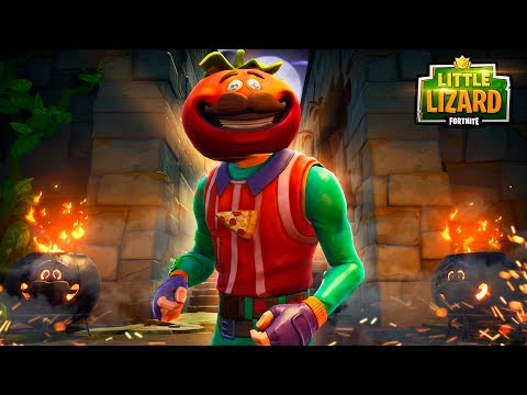 THE MYSTERY OF TOMATO TEMPLE!!! - FORTNITE SHORT FILM
