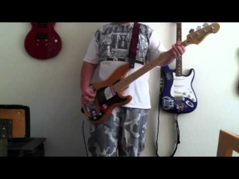 Map Of Your Body by New Found Glory bass cover