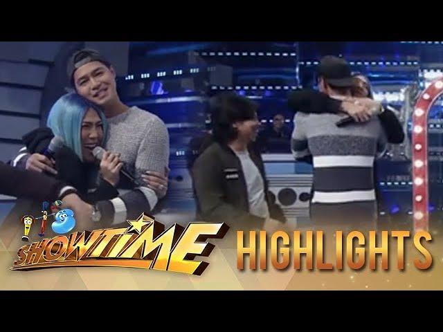 It's Showtime TrabaHula: Vice Ganda gets giddy upon seeing Zanjoe