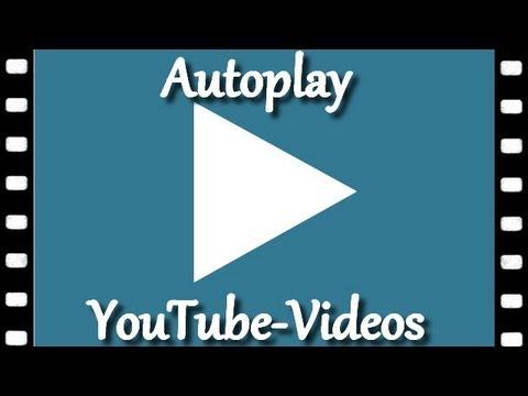 Youtube Video Automatisch Starten