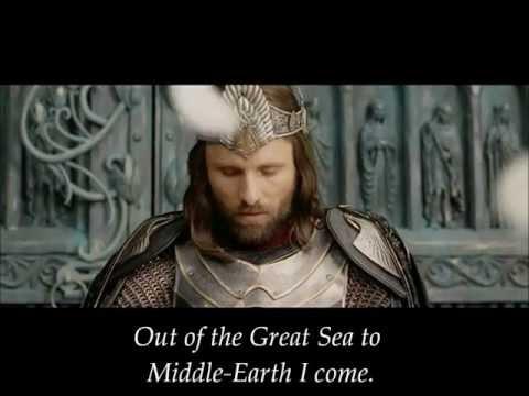 Aragorn's Coronation Lyrics