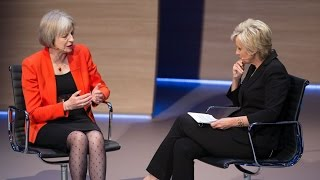 Theresa May chats about Margaret Thatcher