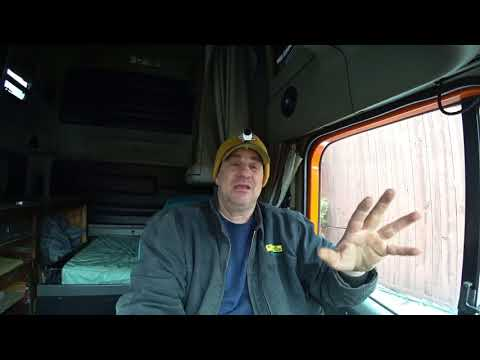 Tour Of My 2002 Freightliner Century #68