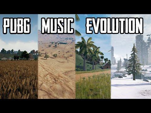 PUBG MUSIC EVOLUTION