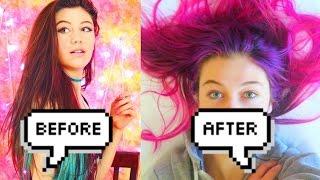 NEW GALAXY HAIR!!! | VLOGMAS DAY 1