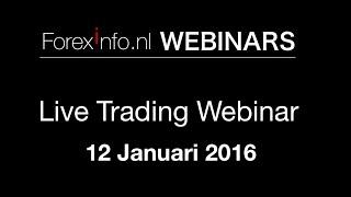 Live Trading Webinar - 12 Januari 2016
