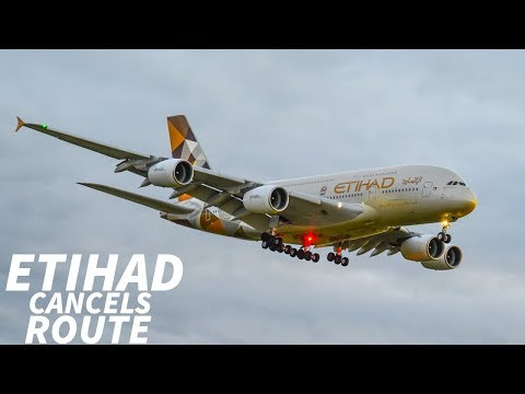 ETIHAD AIRWAYS CANCELS Another ROUTE