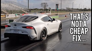 2020 Supra Broke BAD! (Hardest Launch Yet!)