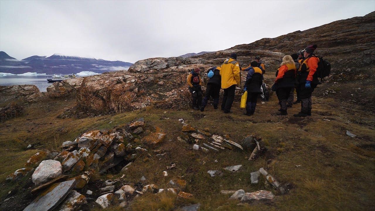 【動画】グリーンランドで探検の歴史に触れる
