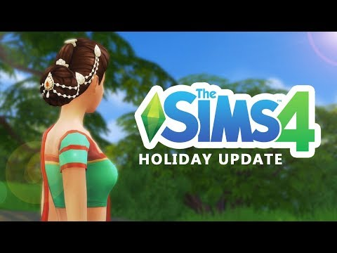 Download Youtube: The Sims 4 FREE Holiday Content!  [ New Hair, Outfits and Lights ]